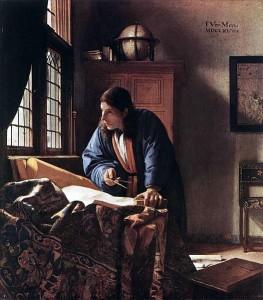 Jan Vermeer. Географ