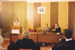 Работа I секции «Кантовская концепция религии и христианство». Председатель – Л.А. Калинников, переводчик – И.Д. Копцев