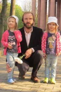Вадим Чалый c детьми
