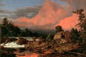 Frederic Edwin Church. Rutland Falls, Vermont